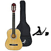 Rocket XF Series 3/4 Classical Spanish Guitar Pack