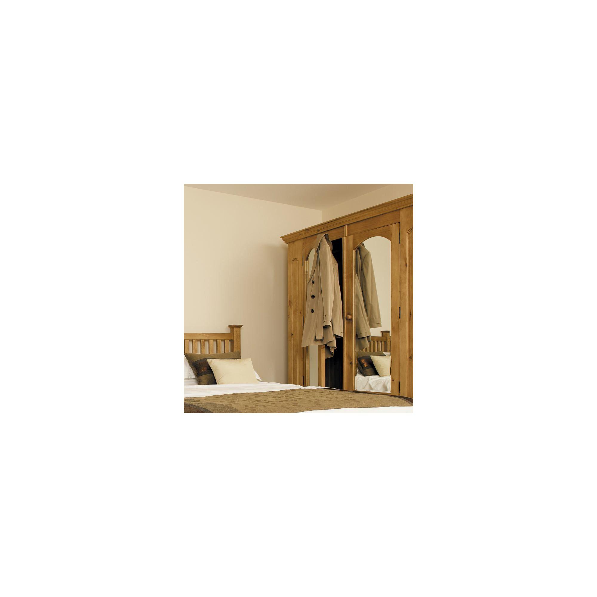 Kelburn Furniture Woodland Pine 2 Door Wardrobe with Mirror at Tesco Direct