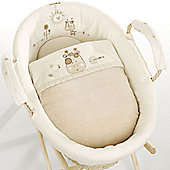 Natures Purest Sleepy Safari - Dressed Moses Basket