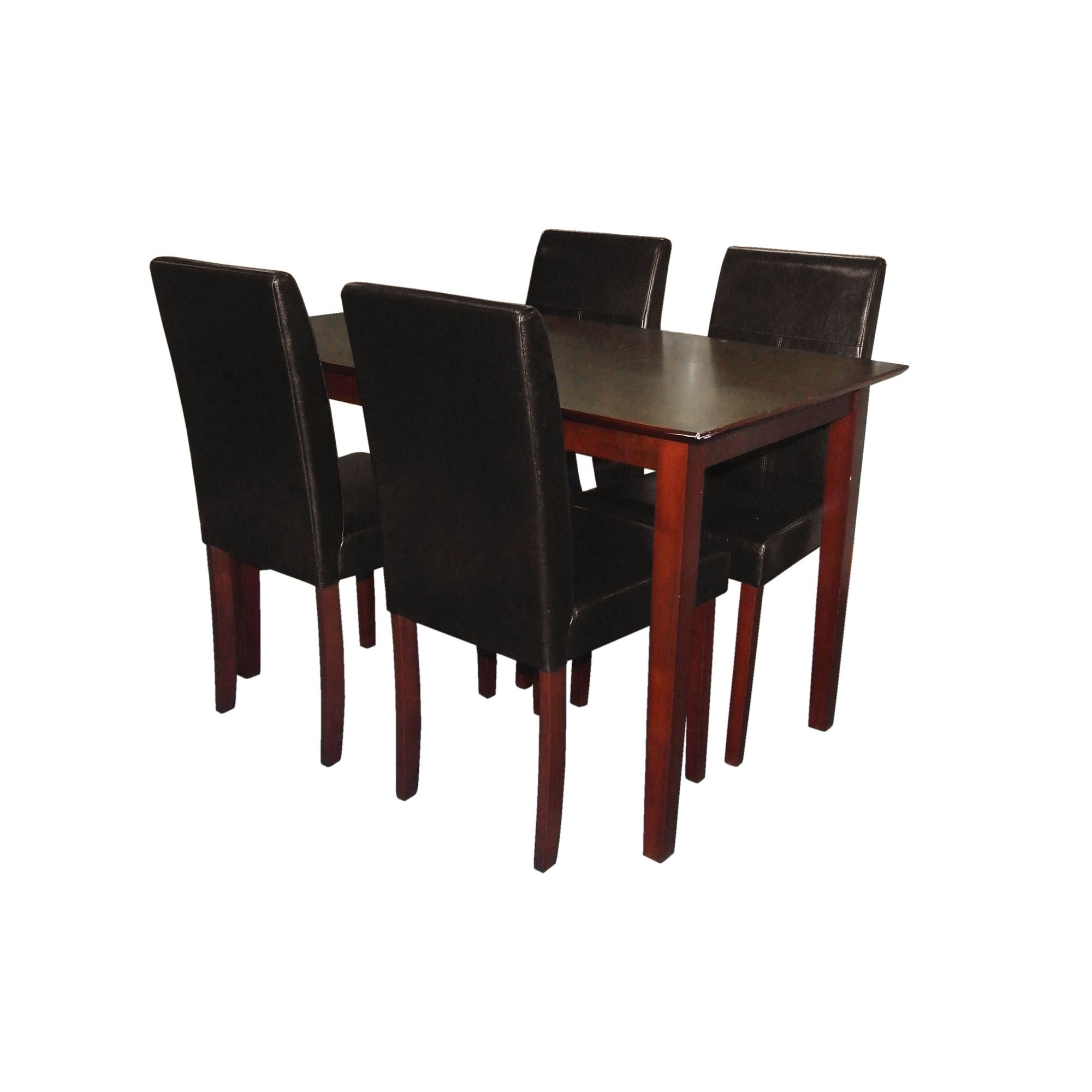 Premier Housewares 5 Piece Dining Set - Brown at Tesco Direct