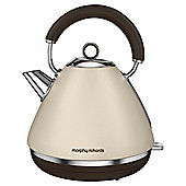 Morphy Richards 102101 Accents Pyramid Kettle, 1.5 L - Sand