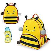 Skip Hop Zoo Backpack & Lunch Bag & Drinks Bottle - Bee