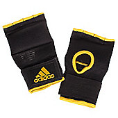 adidas Boxing Super Inner Glove Gel Knuckle Hand Pads - Black