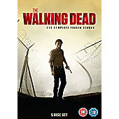 The Walking Dead Season 4 (DVD)