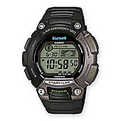Casio G-Shock Mens Resin Bluetooth World Time Alarm Watch STB-1000-1EF