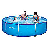 "Bestway Steel Pro Metal Frame Round Pool 10ft x 30"" No Pump - 56026"