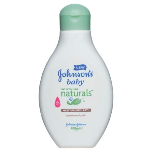 Johnson's Baby Soothing Natural Bath - 400ml