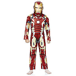 Marvel Iron Man Dress-Up Costume years 07 - 08 Red