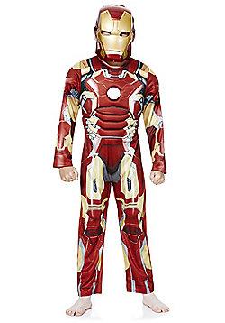 Marvel Iron Man Dress-Up Costume - 7-8 yrs