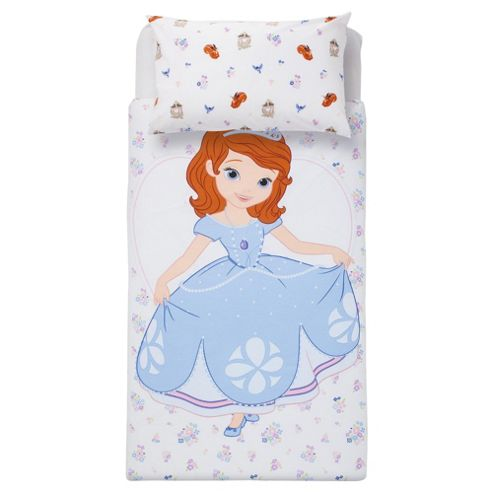 Disney Sophia 1st Floral & Friends Duvet Set Single