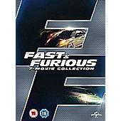 Fast & Furious 1-7 - DVD