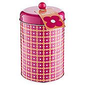Flowery Storage Tin & Tea Bags Set