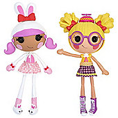 Lalaloopsy Workshop Double Pack - Bunny and Nerd