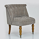 Ashley Occasional Chair Calico Brown Fabric