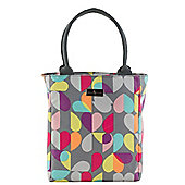 Beau & Elliot Grey Brokenhearted Lunch Tote Bag