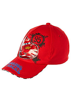 Disney Pixar Cars Light Up Baseball Cap - Red