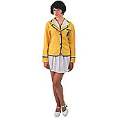 Hi-De-Hi! Yellowcoats Woman Costume Small
