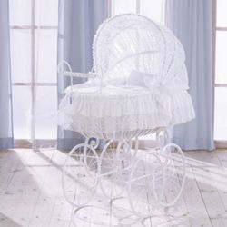 Leipold Dream Royal Crib - White