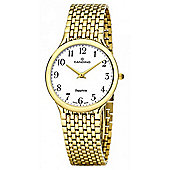 Candino Ladies Gold Stainless Steel Watch C4363/1
