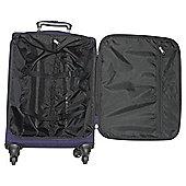 Tesco Lightweight 4-Wheel Large Suitcase - Purple