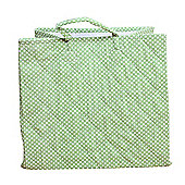 Dotty Toy Storage Basket - Green