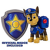 Paw Patrol - Action Pack Chase Figure and Badge