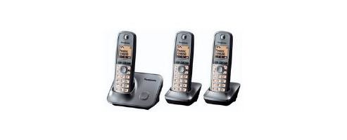 Panasonic KX-TG6613 DECT Cordless Telephone (Trio)