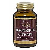 Vega Magnesium Citrate 100mg 60 Veg Capsules