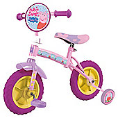 Peppa Pig 2-in-1 Kids' Bike with Stabilisers