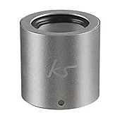 Kitsound Button Speaker Silver