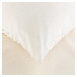 Cotton Rich Pillowcase Twinpack - Cream