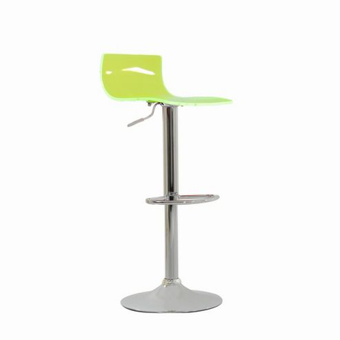 Crystal Lime Green Breakfast Bar Stool