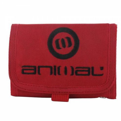 Animal Federal Mens Wallet Chilli Red