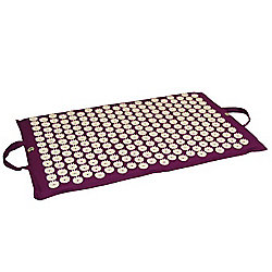 Yoga-Mad Acupressure Bed of Nails AUBERGINE