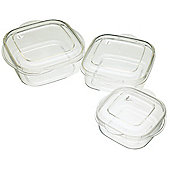 KitchenCraft Microwave Casserole Three Piece Set