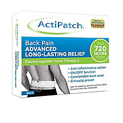 ActiPatch Back Pain Relief 720 Hour Electro Pulse Therapy