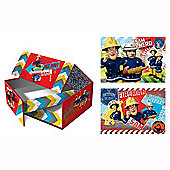 Fireman Sam Rescue Box with 2 Puzzles