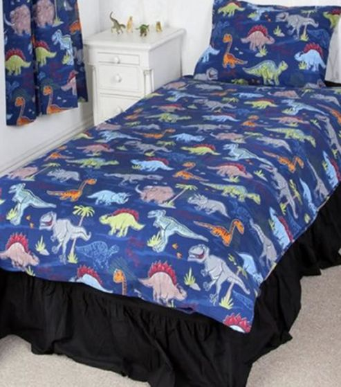 buy dinosaur pals single bedding from our duvet covers. Black Bedroom Furniture Sets. Home Design Ideas