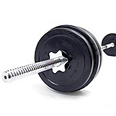 Bodymax Deluxe 30kg Rubber Barbell Kit