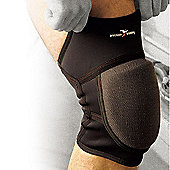 Precision Gk Neoprene Padded Knee Support - Black
