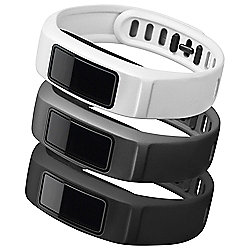 Garmin Vivofit 2 Neutral Accessory Pack, Black, White, Slate