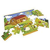Carousel Farm Floor Puzzle