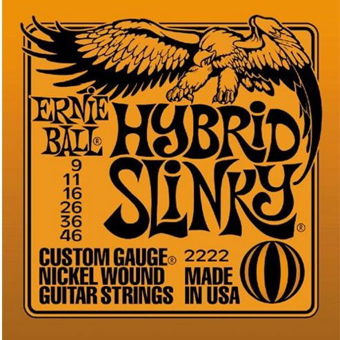 Ernie Ball Hybrid Electric Guitar Strings