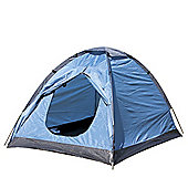 North Gear Camping Scott Waterproof 2 Man Dome Tent Blue
