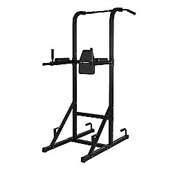 Confidence Olympic Power Tower V2 Knee Raise Dip Pull/Chin Up Abs Multi Station