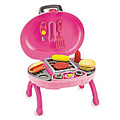 Toyrific Pink Barbecue Set With Lights And Sounds