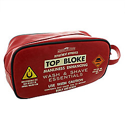 Ministry of Chaps Top Bloke Mens Wash Bag