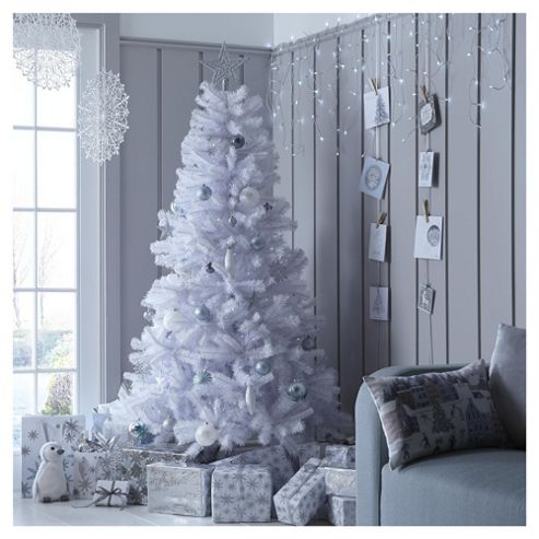 buy 6ft white alaskan christmas tree from our christmas. Black Bedroom Furniture Sets. Home Design Ideas