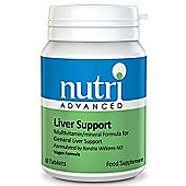 Nutri Ltd Liver Support 60 Veg Capsules
