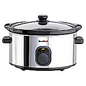 Breville VTP212 Slow Cooker Stainless Steel
